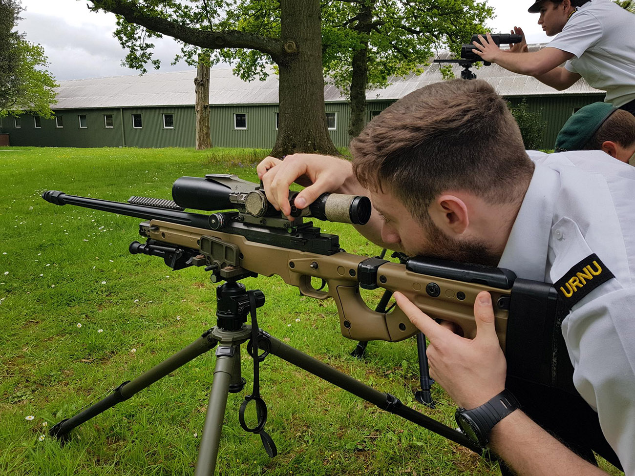 Oxford URNU visits Royal Marines Sniper Wing
