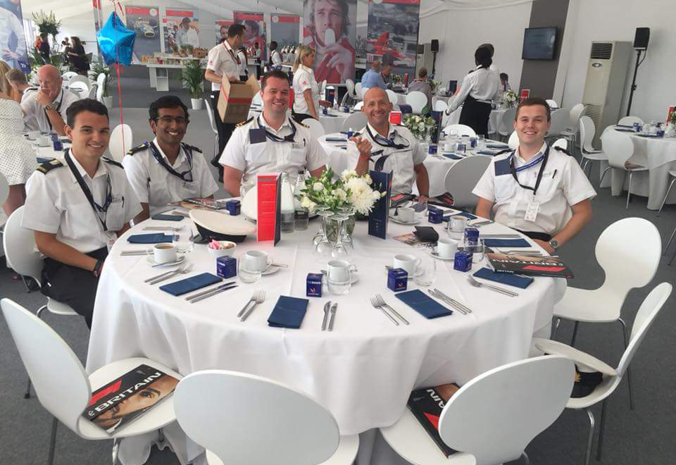Oxford URNU VIP hosting at the British Grand Prix