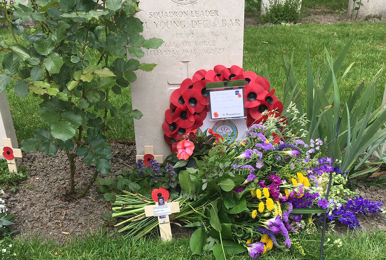 Oxford URNU Officer attends Dambuster Anniversary