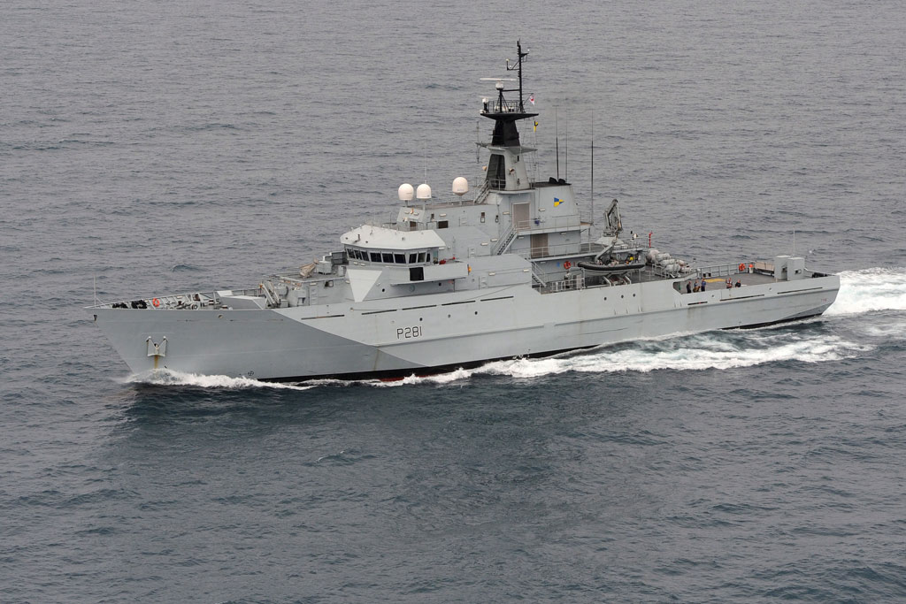 HMS Tyne visits the Tyne for five-day visit