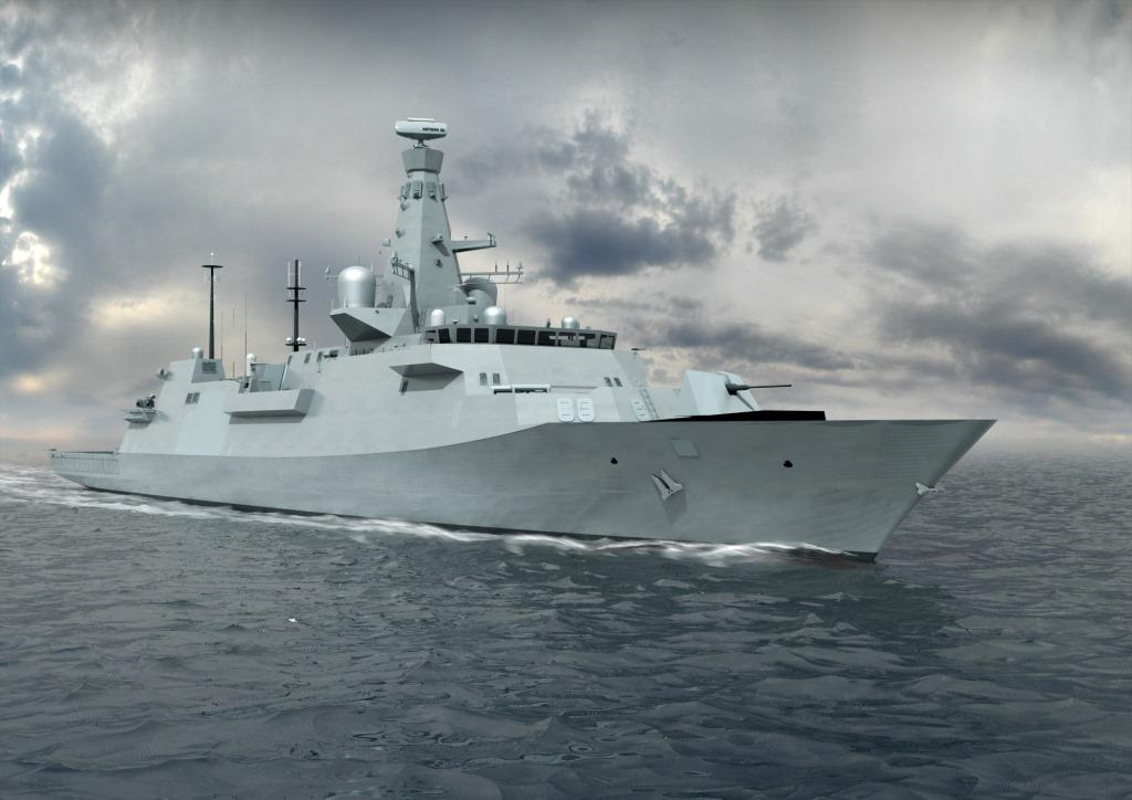 Latest Look At Navy S Future Frigates As Type 26 Design