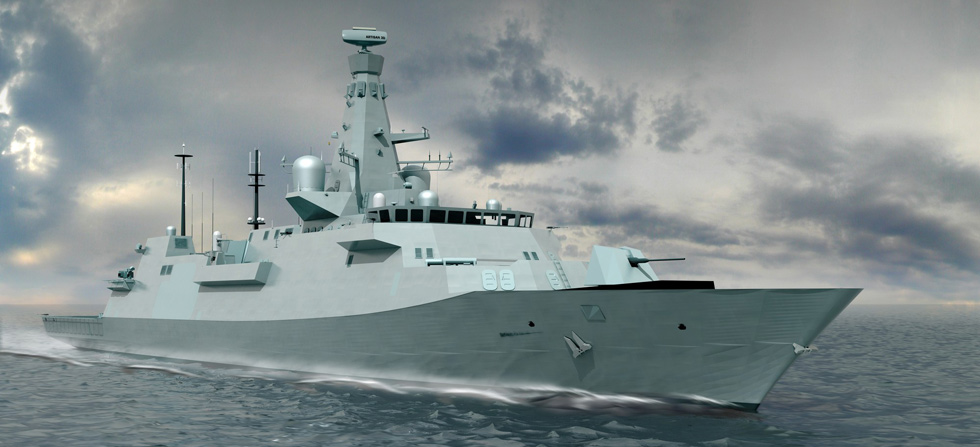 Type 26 frigate design