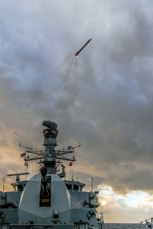 Missile success for HMS Westminster as second ship to fire new Sea Ceptor