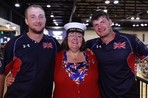 Friends and family arrive to cheer on Invictus Games Athletes