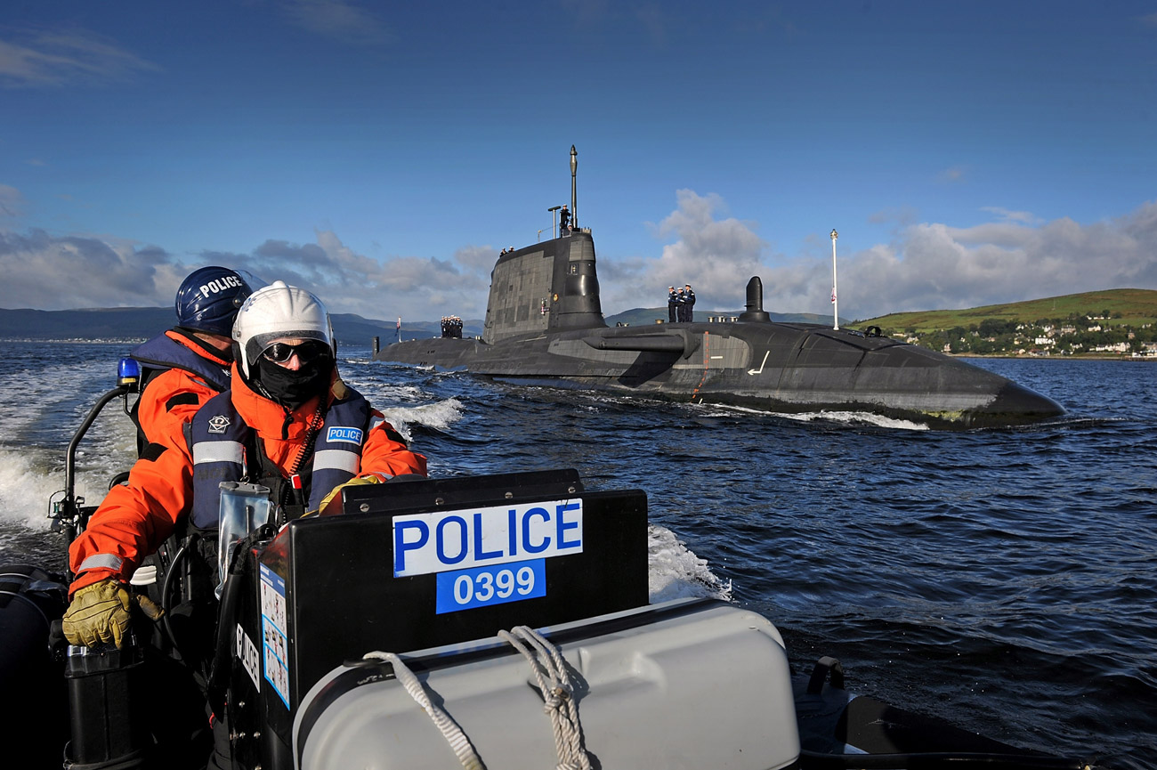 HMS Ambush returns from first operational deployment