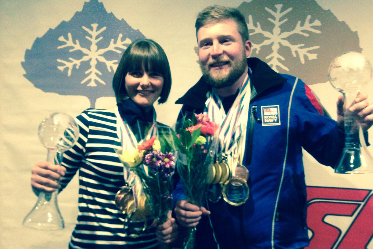 Royal Navy skier aims to guide Paralympic athlete to gold