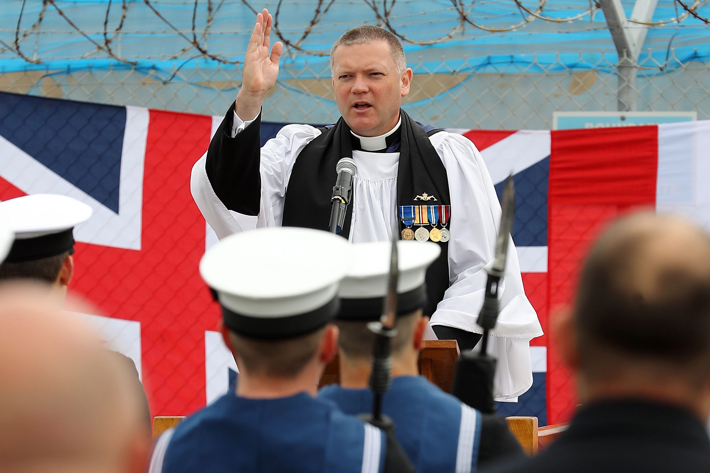Submariners celebrate HMS Torbay's proud service