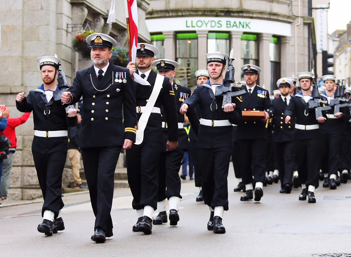 RNAS Culdrose celebrates 60 years of the Freedom of Helston