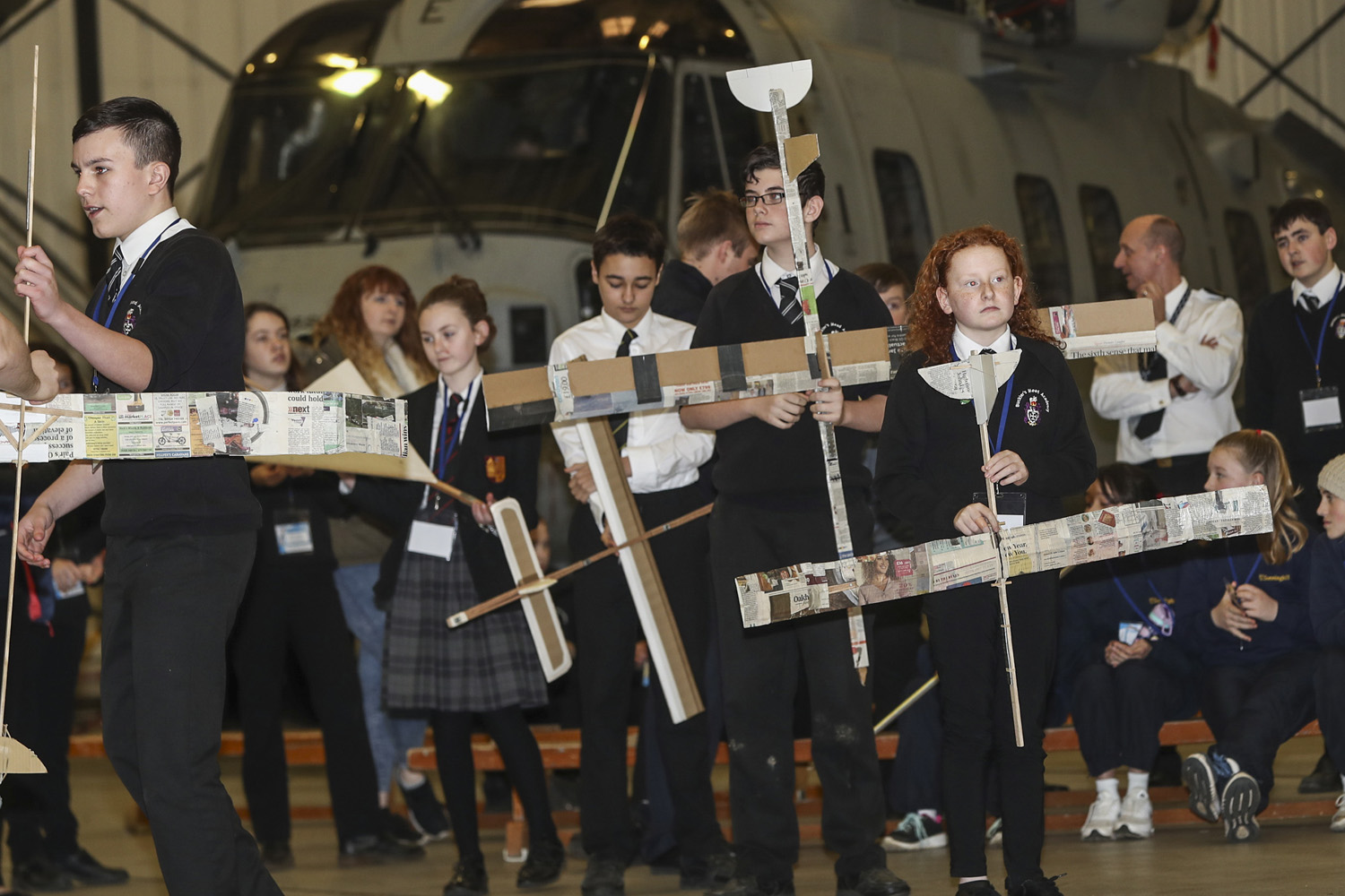 Students are off to a Flying Start the inspirational student engineering challenge held at Royal Naval Air Station.