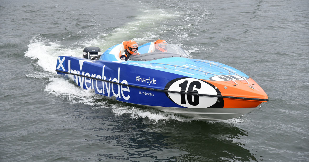 Scottish Naval Base Supports Grand Prix of the seas