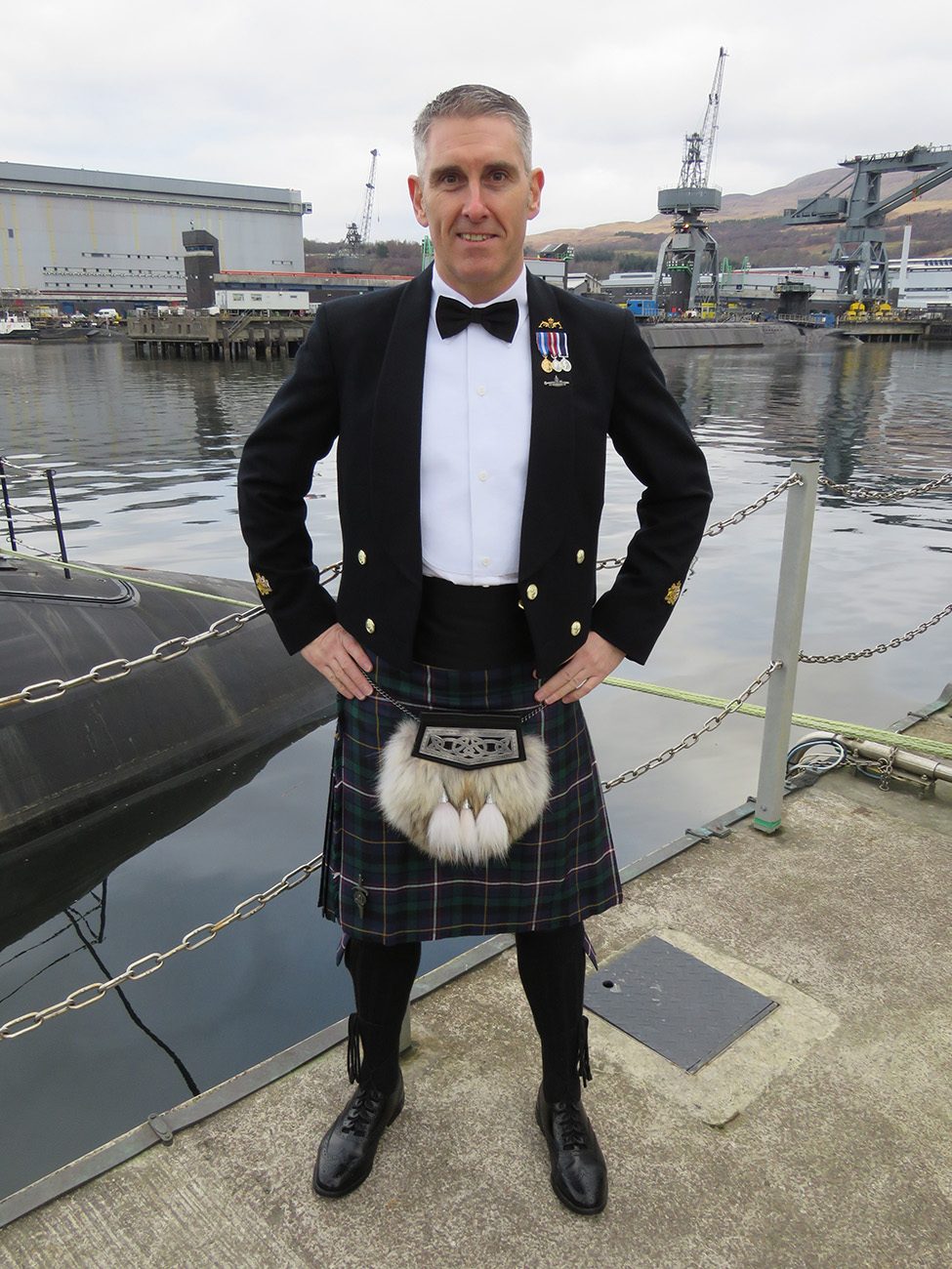 Submarine Service launches new tartan