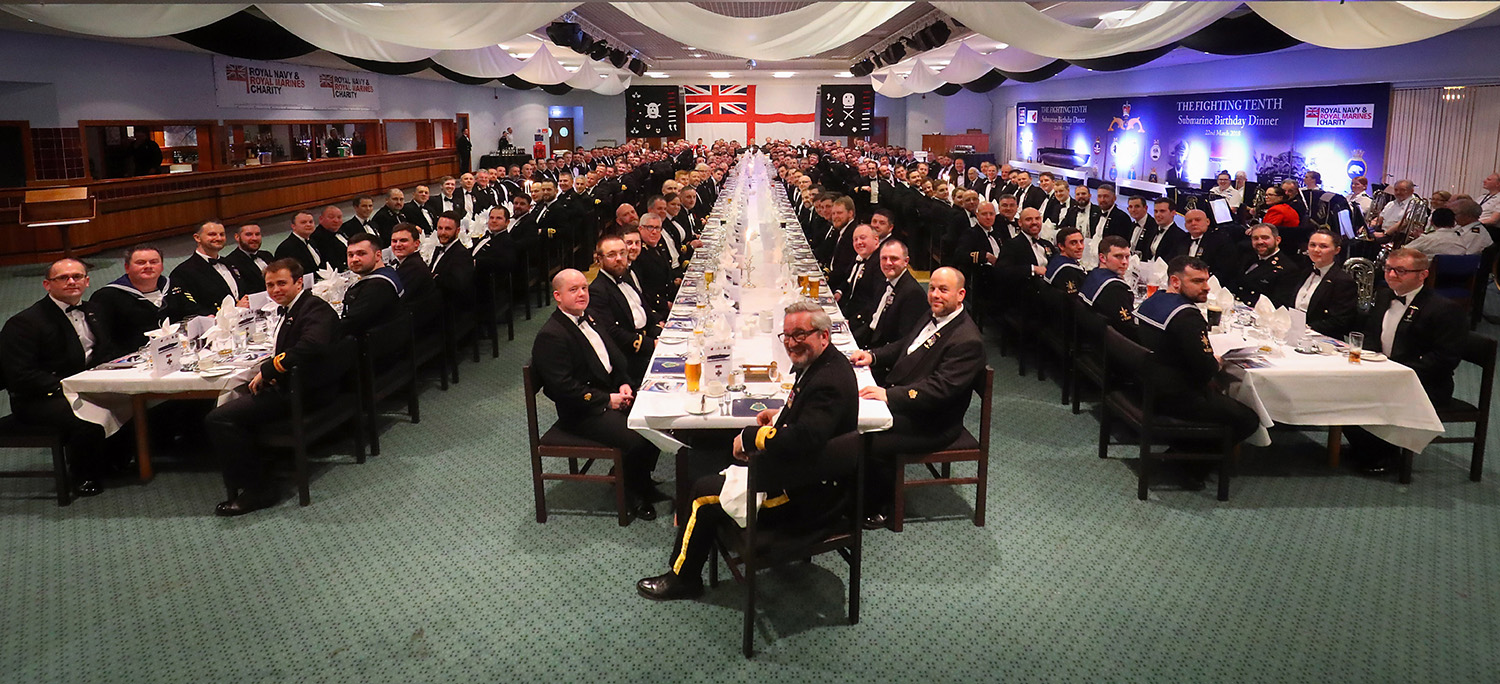 Submariners assemble at anniversary dinner
