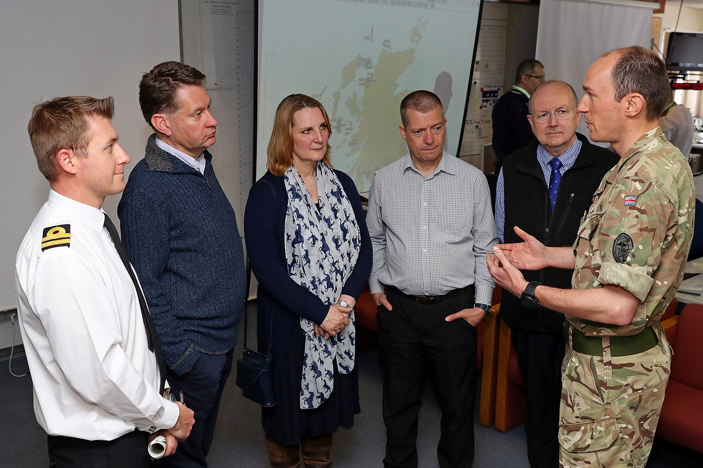 MSPs discover more about Europe's largest military exercise
