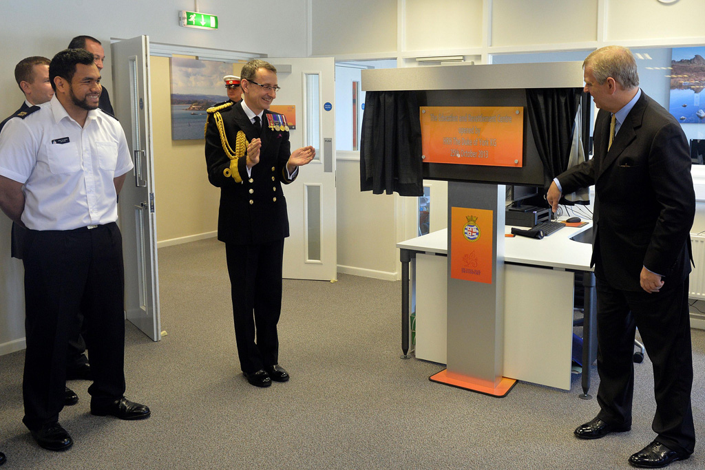 Duke of York opens Education and Resettlement Centre