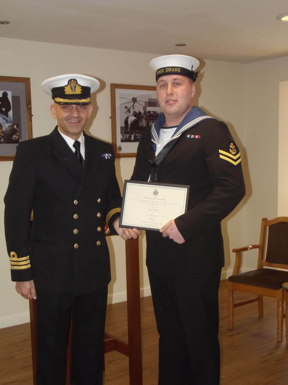 Navy Page 2 >> Royal Navy Police Officer excellence award | Royal Navy