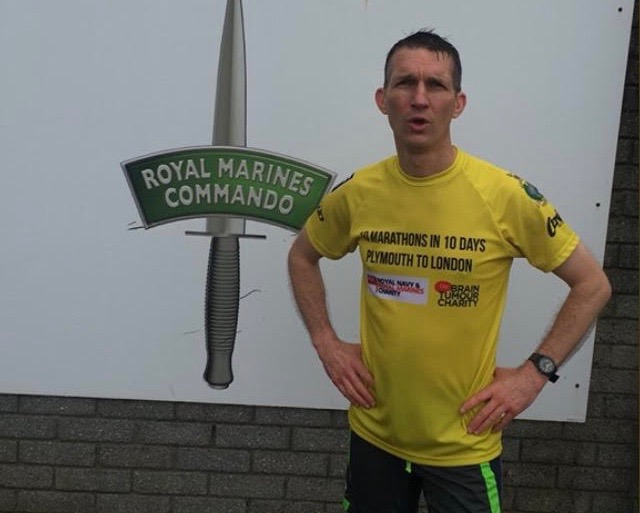 Royal Marine's ten marathons in ten days challenge
