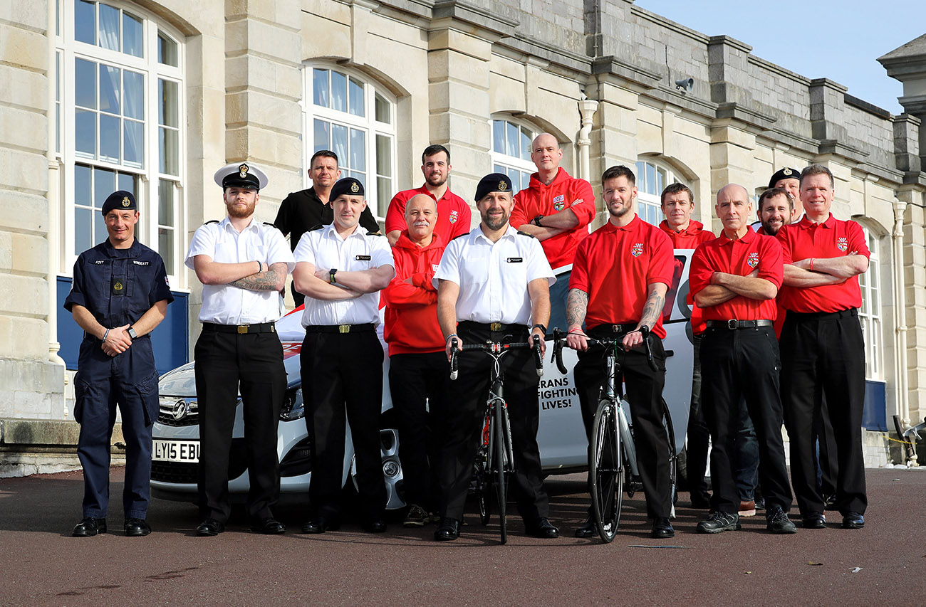 Armed Forces cycle ride in aid of veterans