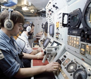 Inside HMS Courageous' Control Room on a Cold War patrol