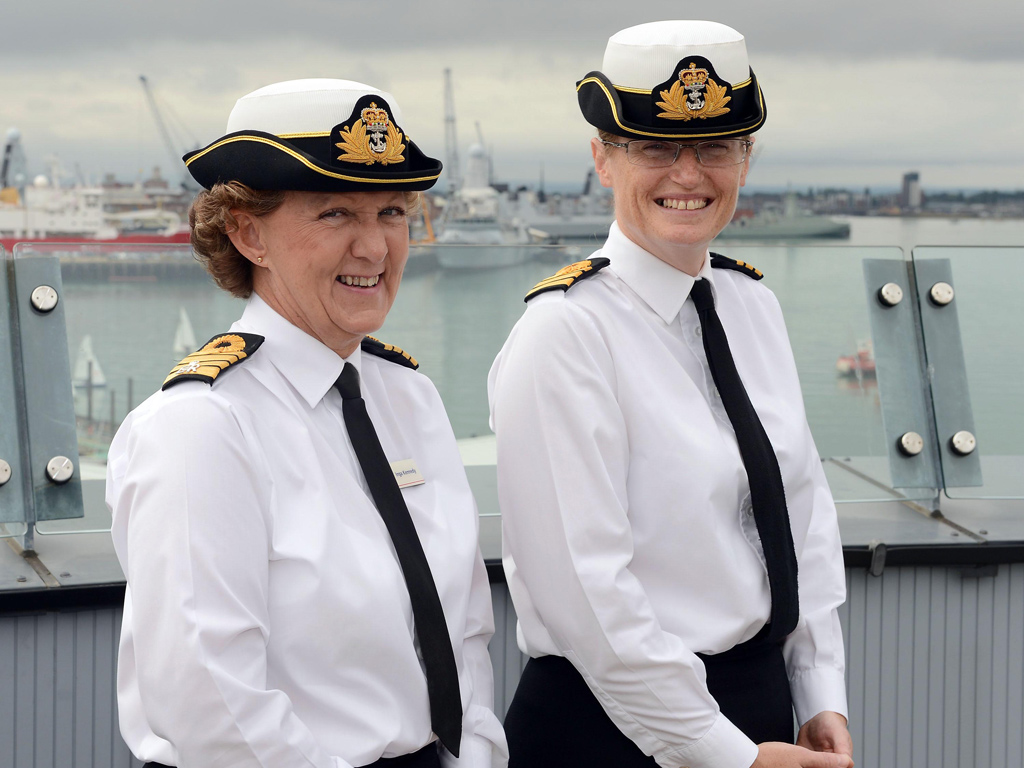 97be9653990 The new tricorn hat. Greater recognition for senior female officers