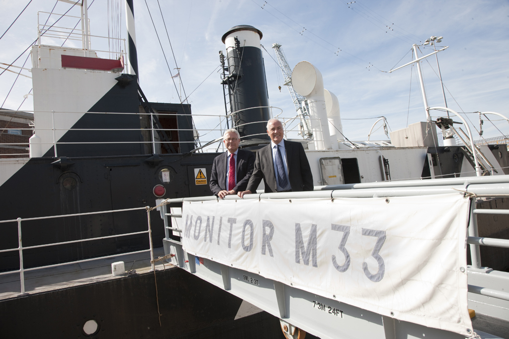 Gallipoli veteran warship HMS M33 to be restored in time for centenary