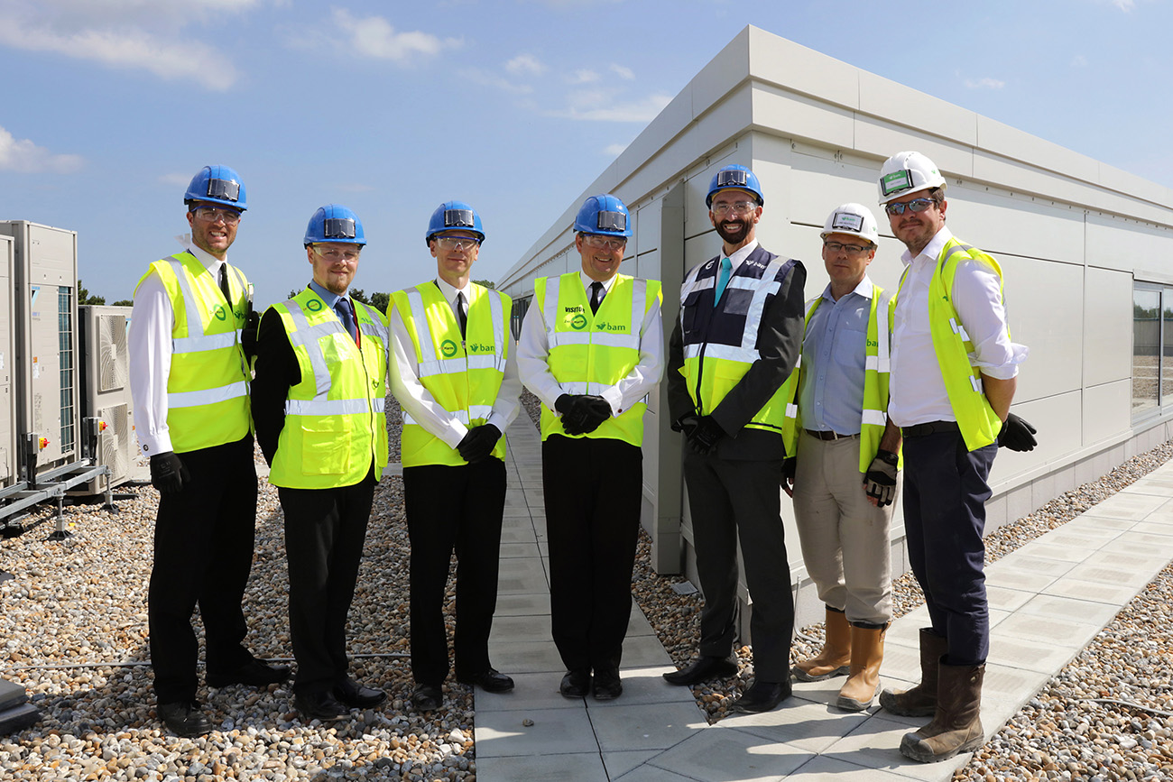 econd Sea Lord visits new facilities at UTC Portsmouth