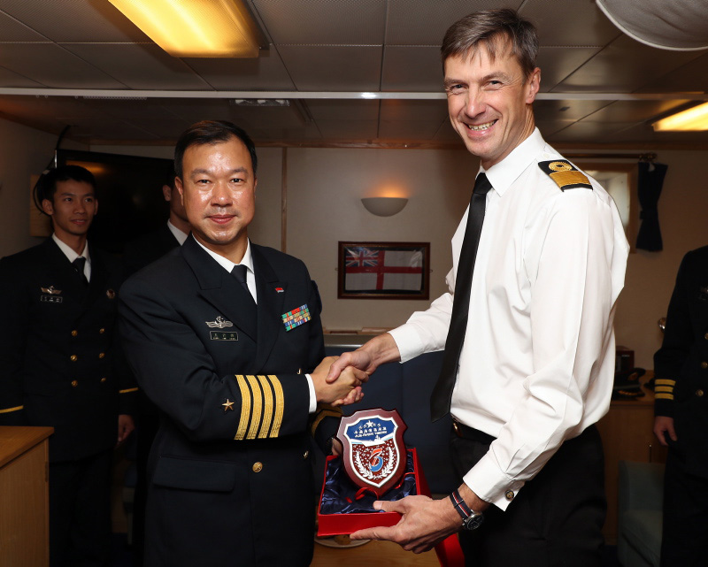 Chinese Navy pay visit to Portsmouth