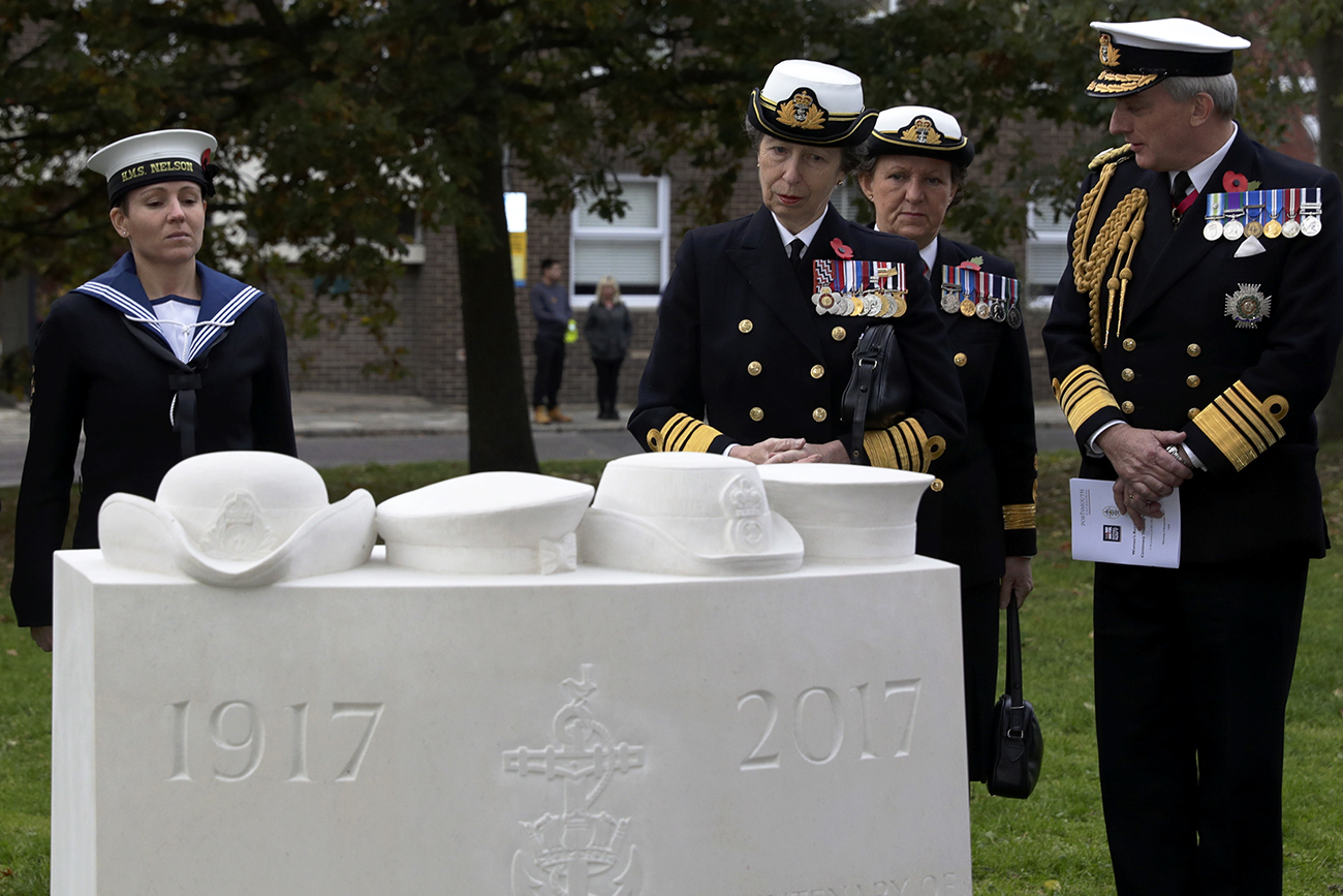 HRH Princess Royal celebrates the WRNS at Service of Thanksgiving