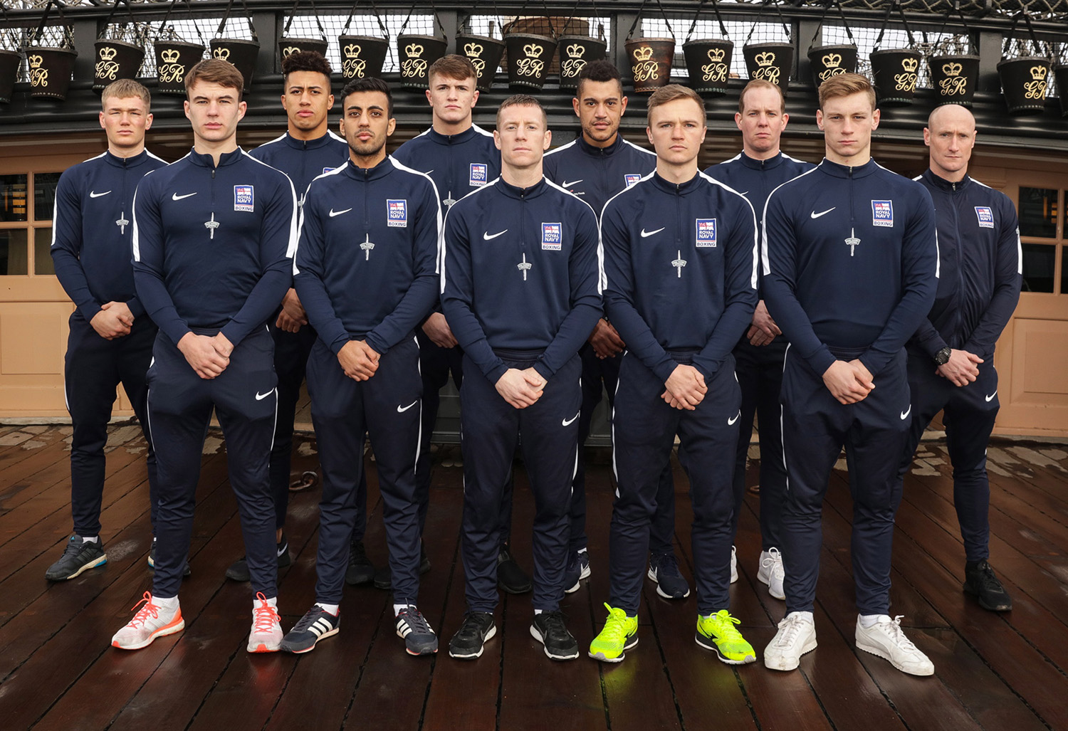 Royal Navy boxers aim for title of UK Armed Forces champions