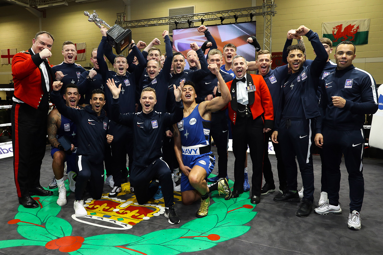 Royal Navy boxers take title of UK Armed Forces Champions