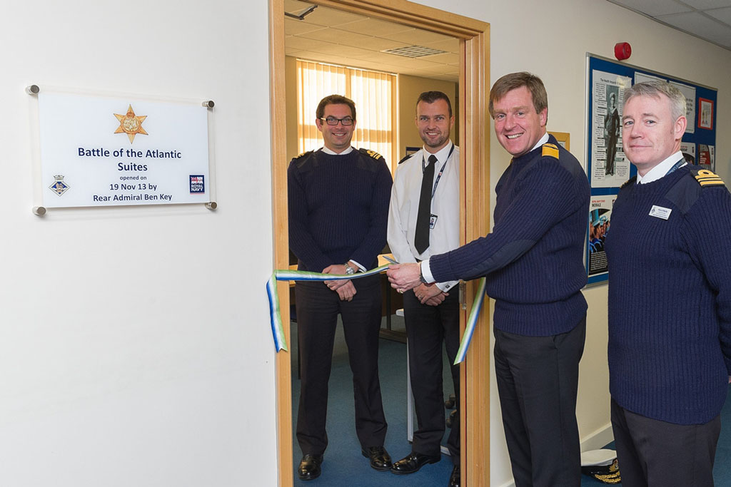 Flag Officer Sea Training Opens New It Suites Royal Navy