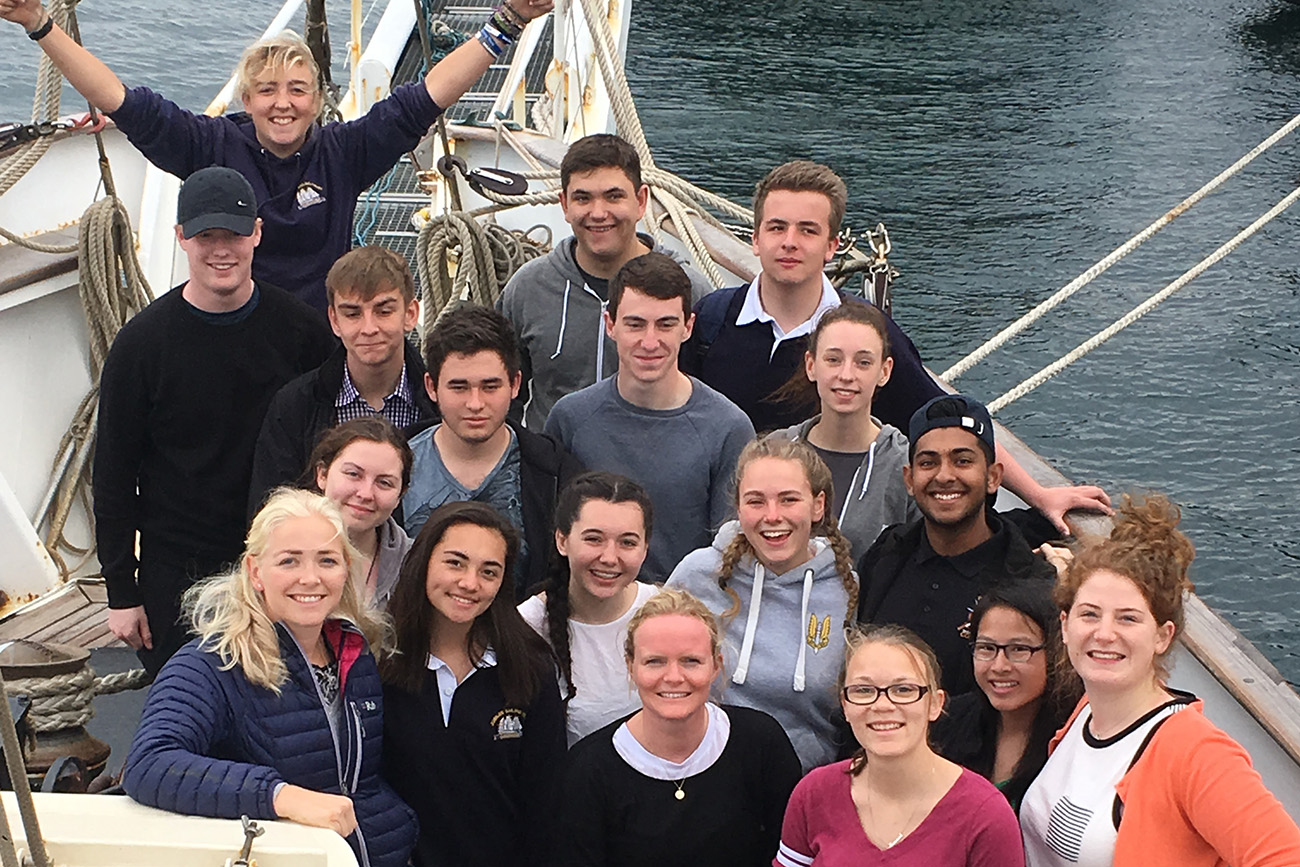 uplifting experience for Collingwood Naval Officer