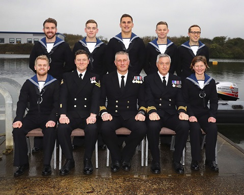 Navy Divers surface from course with honours