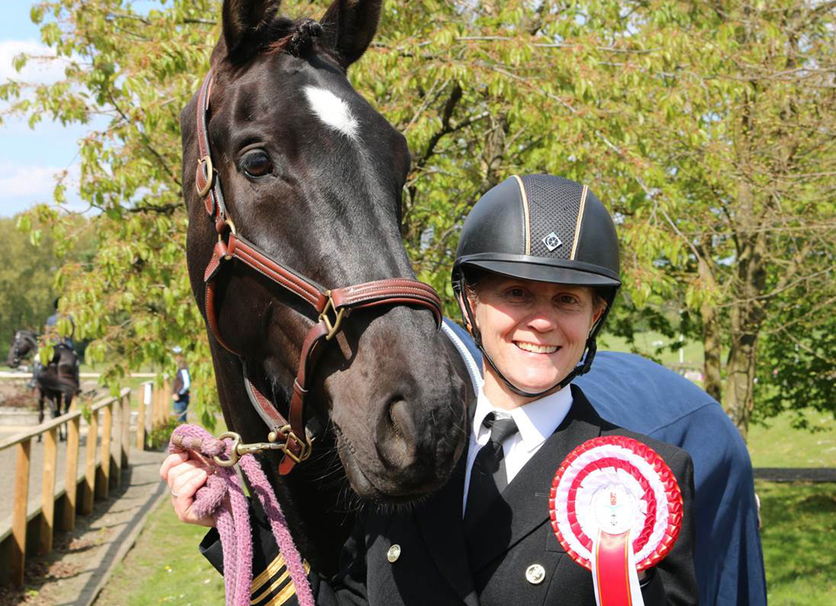 Future looks Sonny for HMS Collingwood dressage pair