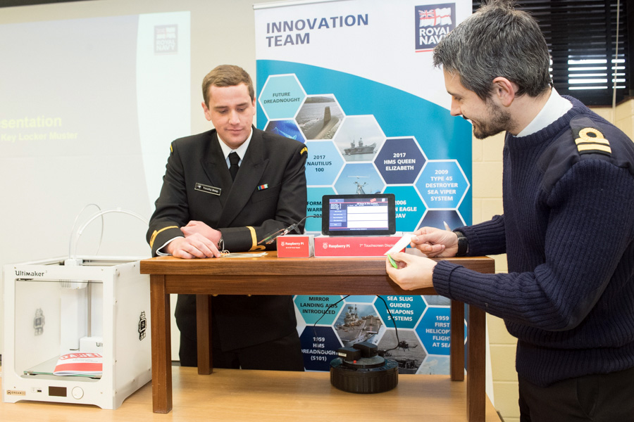 Engineering innovation at HMS Collingwood