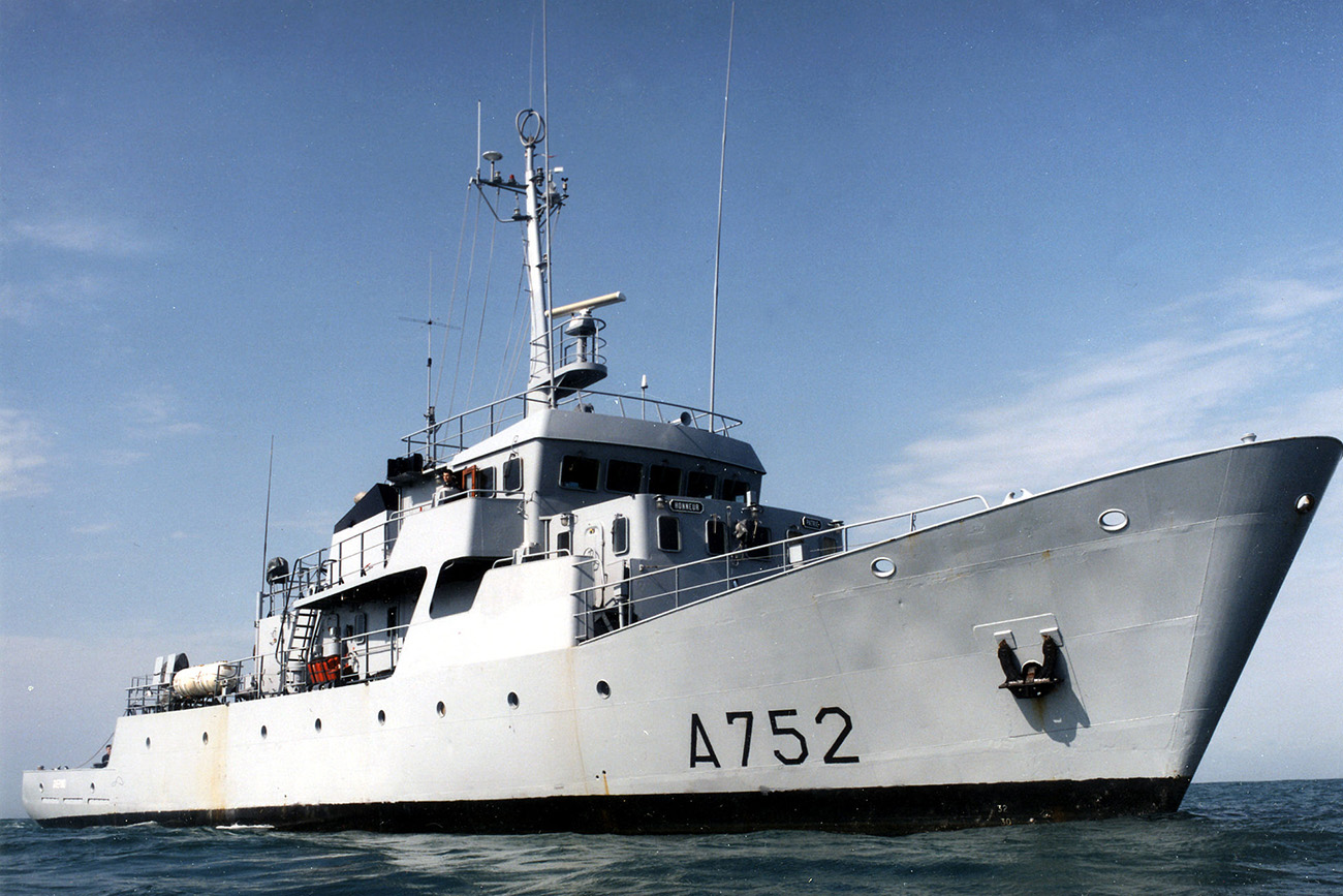 French Naval training ships visit Dartmouth
