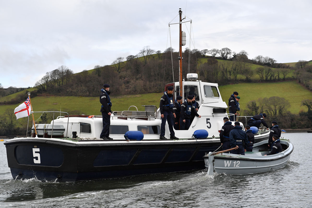 New lease of life for BRNC boats   Royal Navy