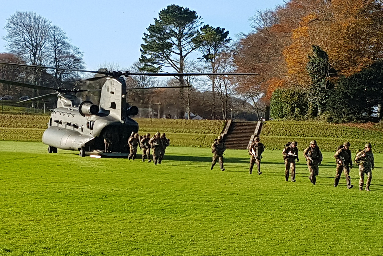 BRNC Cadets return from tests on Dartmoor
