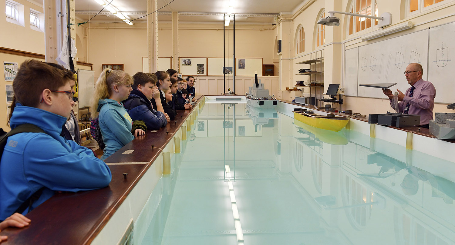Dartmouth Academy visits BRNC