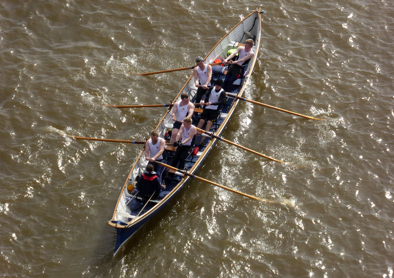 BRNC take part in first gig race of season