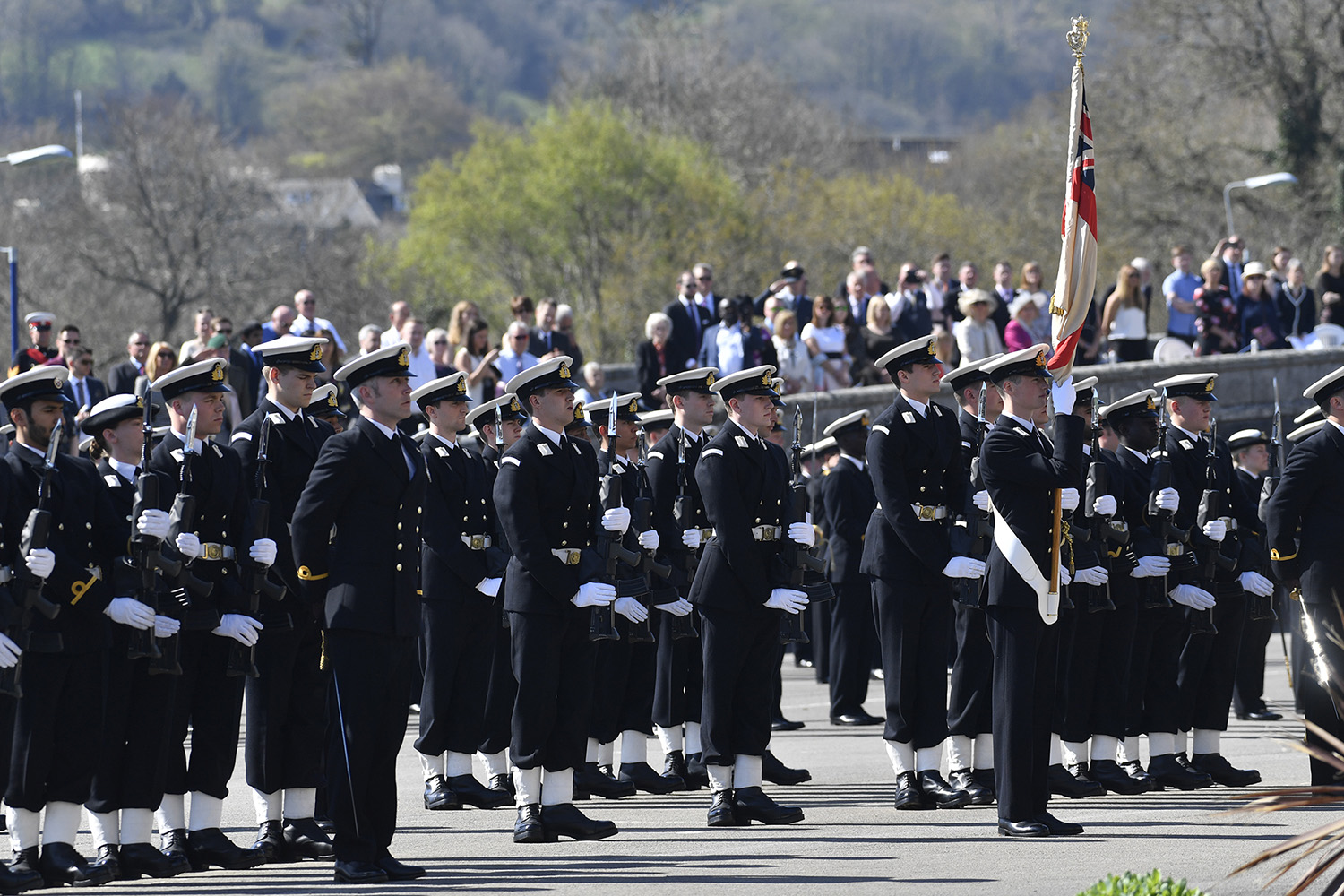 Passing out parade takes place at BRNC
