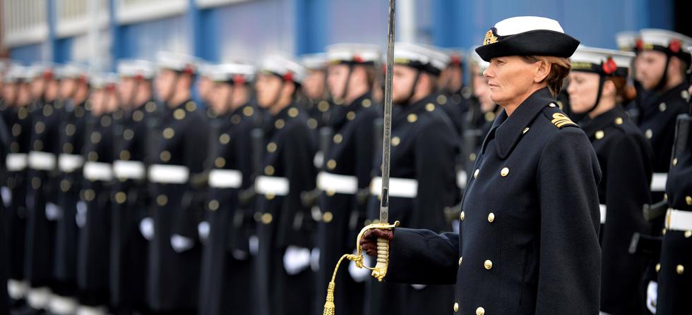 Royal Navy trains for National Remembrance ceremonies | Royal Navy