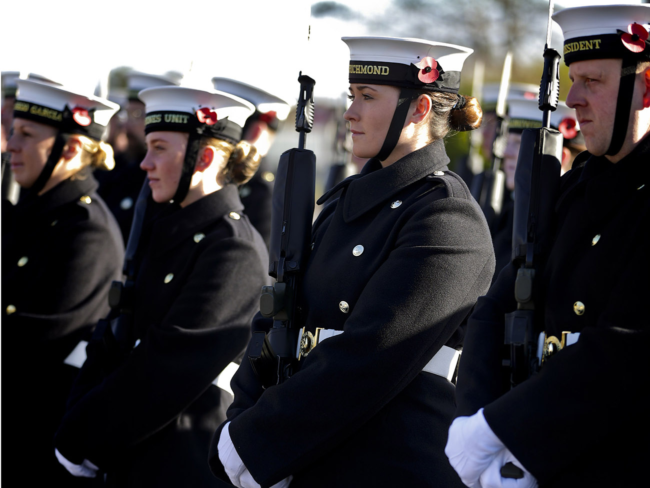 Royal Navy rehearse Remembrance drills ahead of Cenotaph ceremony