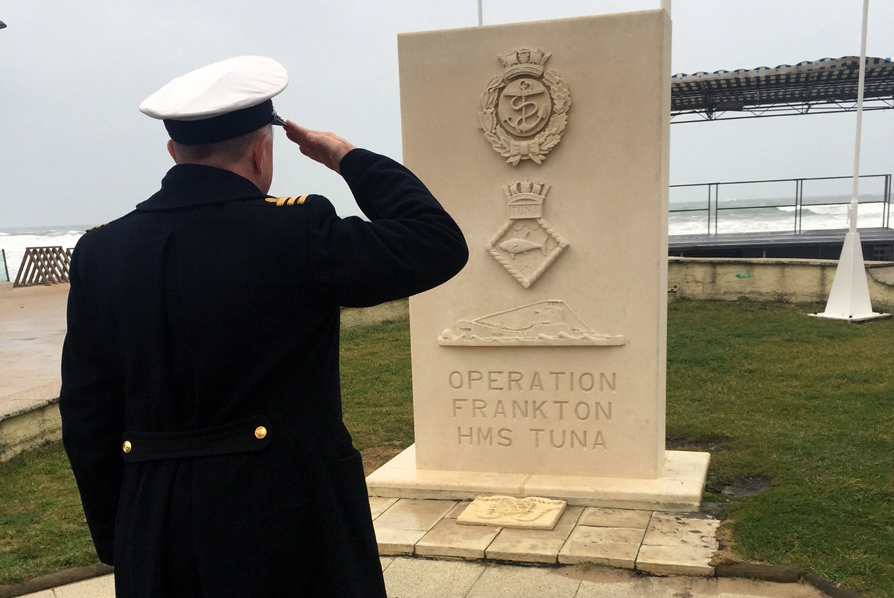 Cockleshell Heroes remembered at ceremonies in France