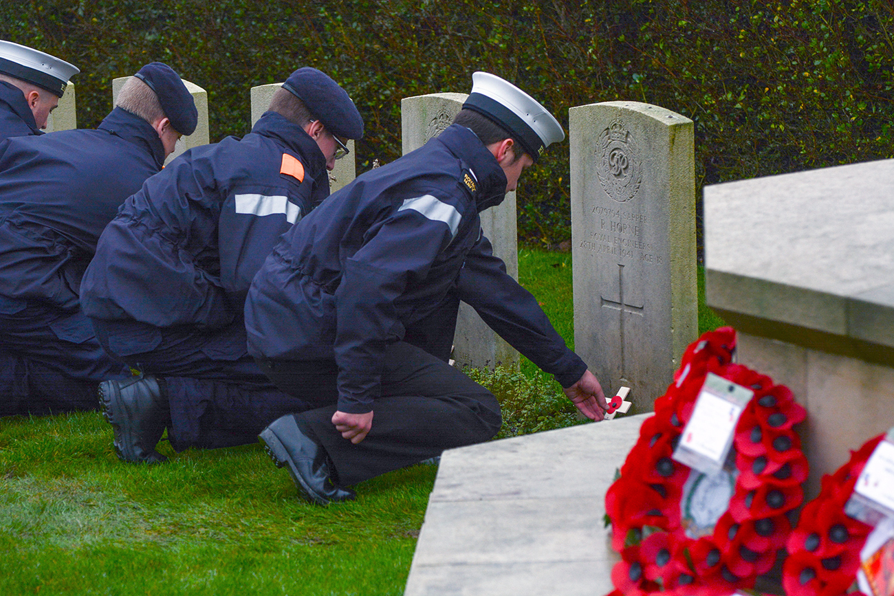 HMS Raleigh remembers the Fallen