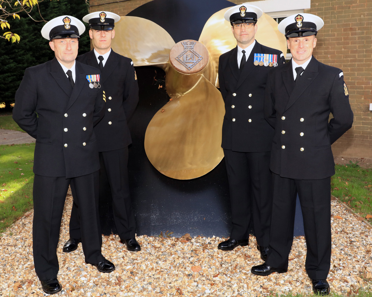 First engineering direct entry Petty Officers ready for sea | Royal Navy