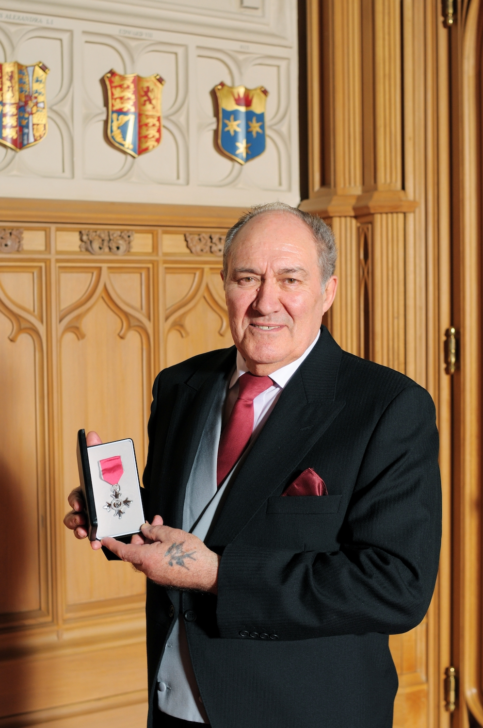 Sultan Marine Engineering Museum curator receives MBE