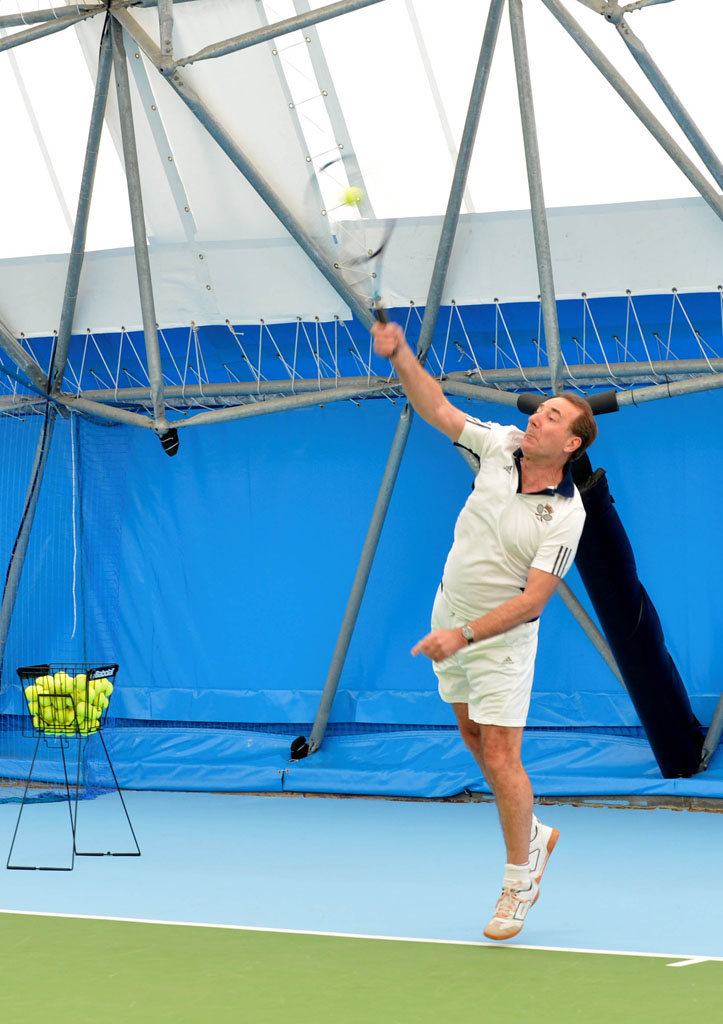 Upgraded indoor tennis centre opens in Portsmouth