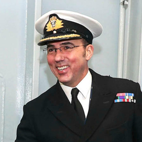 Photograph of Captain Angus Essenhigh OBE