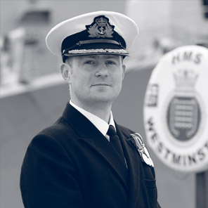 Photograph of Commander Simon Kelly