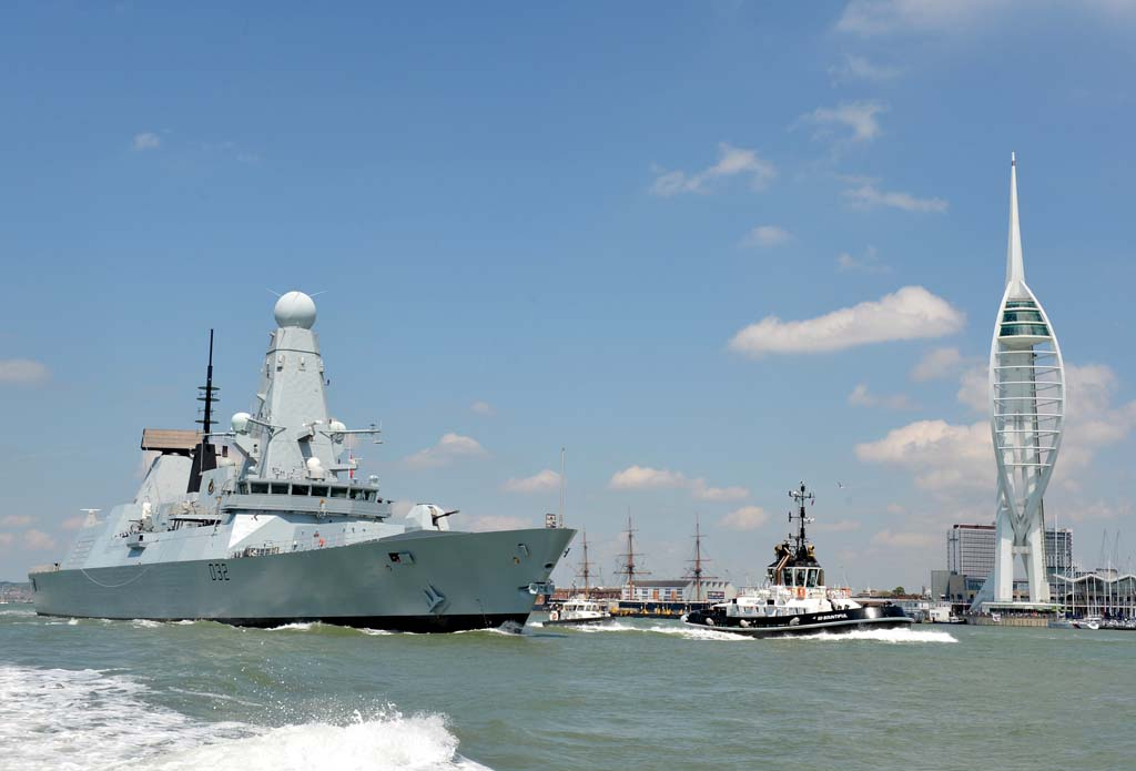 HMS Daring celebrates her 10th birthday